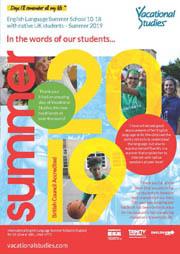 Vacational Studies 2019 brochure